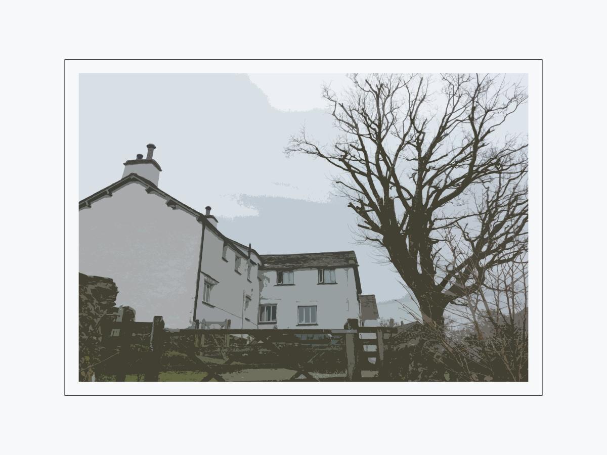 Langdale spring cottage 12x16