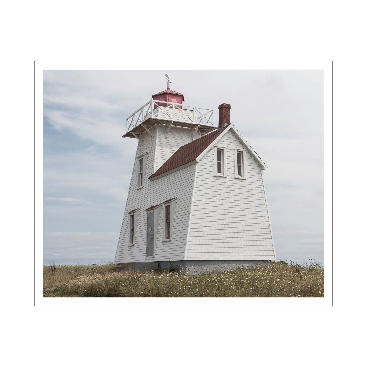 North Rustico lighthouse 16x16