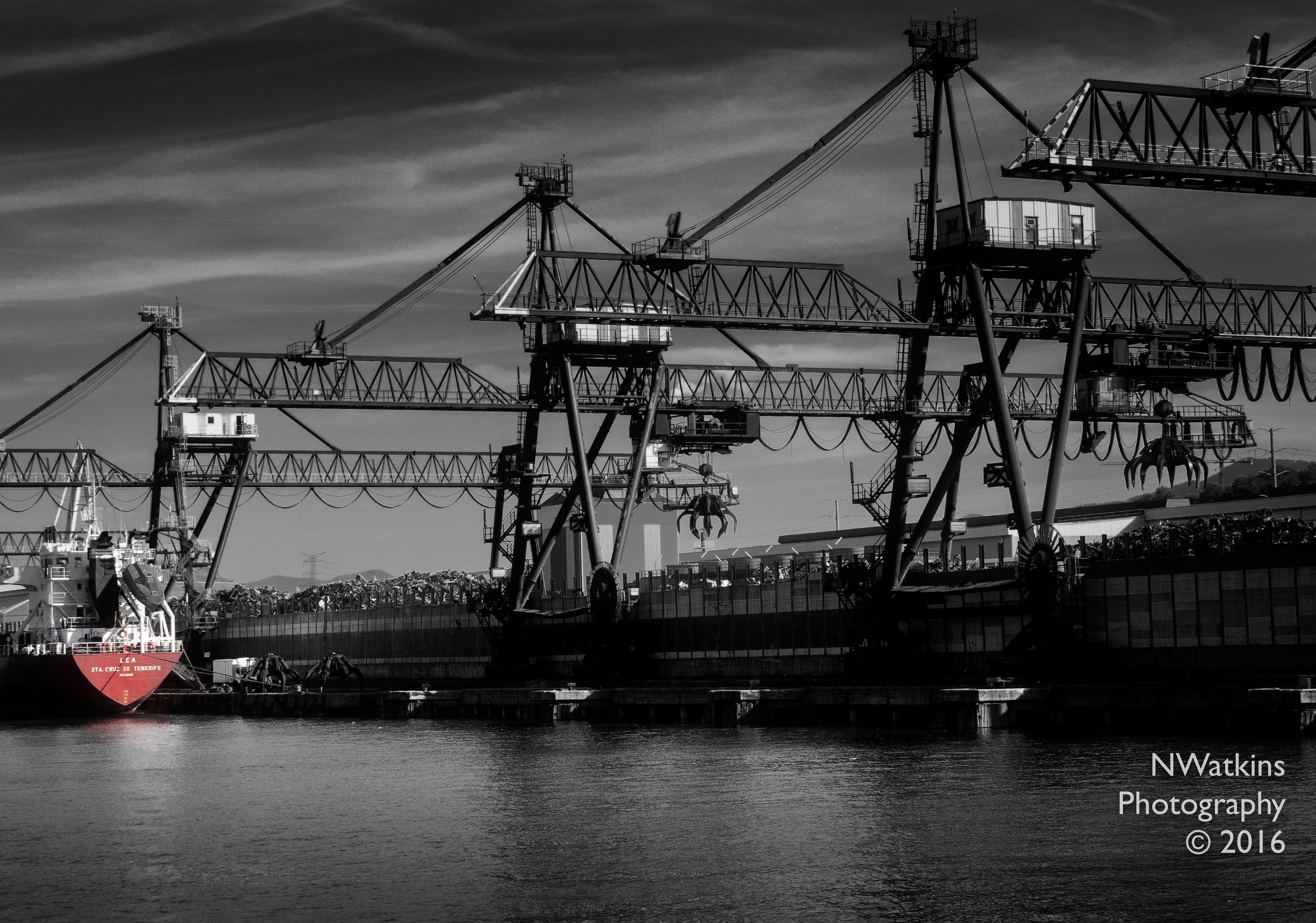 bilbao industrial waterfront cw