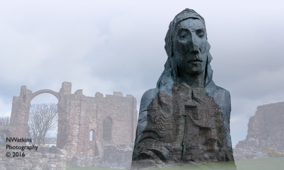 st cuthbert at lindisfarne priory cw
