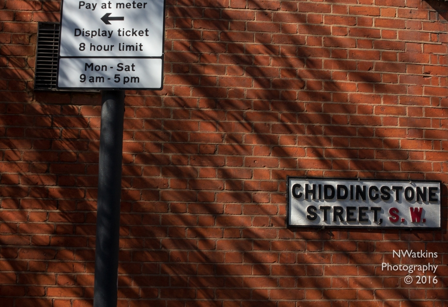 w1-daytime parking on chiddingstone street cw