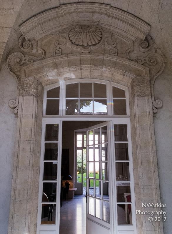 hotel door in Avignon
