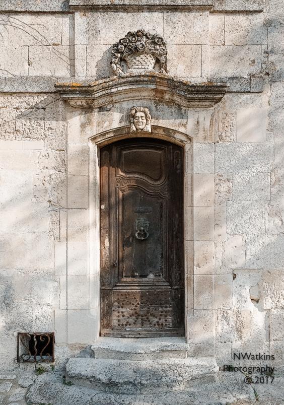 old door in Les Baux-de-Provence