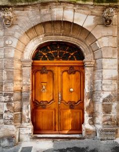 office door in Narbonne
