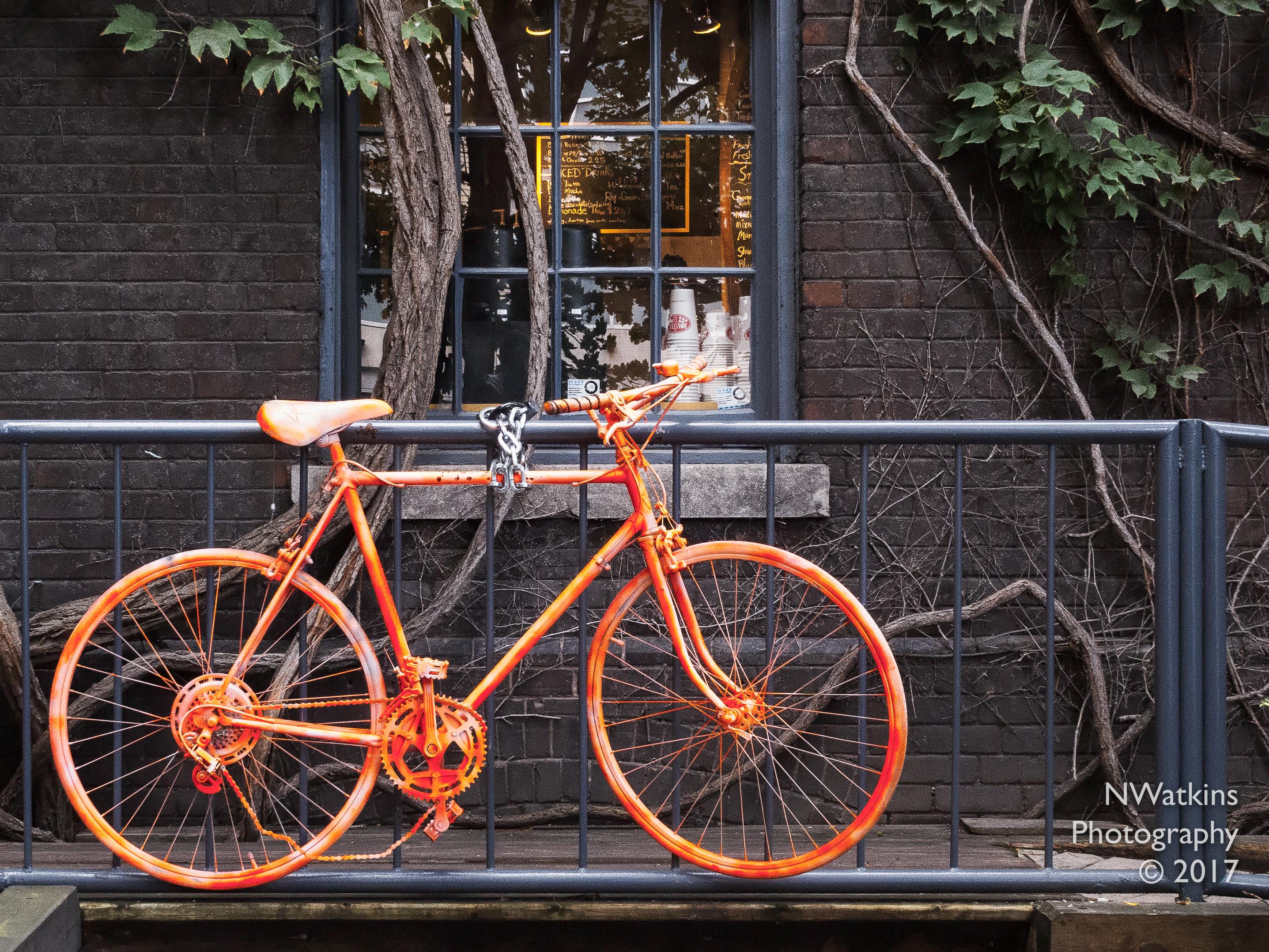 orange bicycle-railing cw