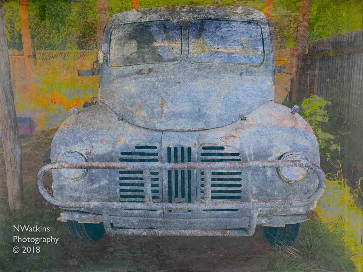 vintage austin truck cw