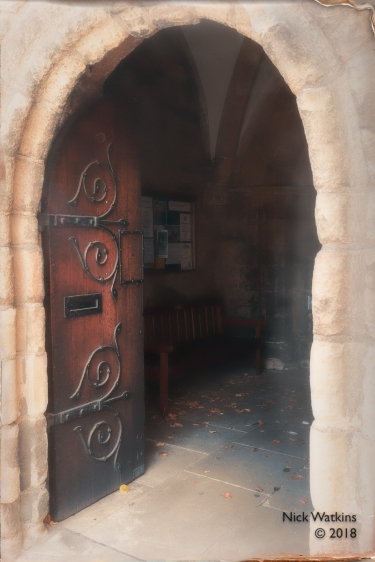 Hexham Abbey doorway