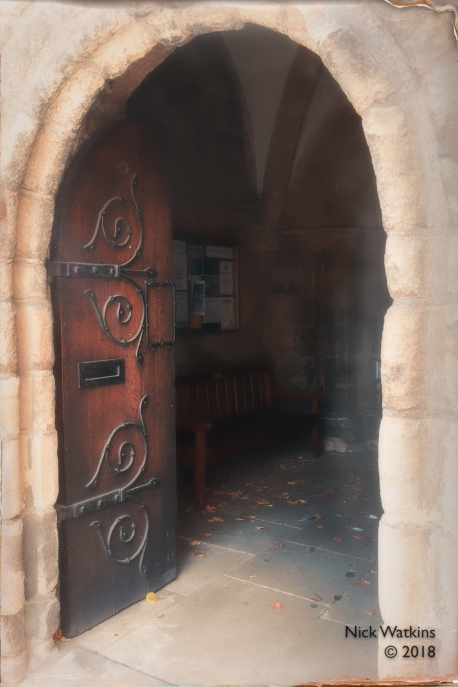 Hexham Abbey doorway